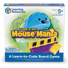 Learning Resources Code & Go Mouse Mania Board Game - Strategy - 2 to 4 Players