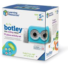 Learning Resources Botley the Coding Robot Activity Set - Theme/Subject: Learning - Skill Learning: STEM, Material Detection, Navigation, Coding, Critical Thinking, Problem Solving, Logic - 77 Pieces