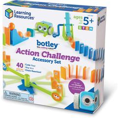 Learning Resources Botley the Coding Robot Action Challenge Accessory Set - Theme/Subject: Learning - Skill Learning: STEM, Coding, Navigation, Critical Thinking, Physics, Force, Motion - 41 Pieces