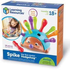 Learning Resources Spike the Fine Motor Hedgehog - Theme/Subject: Learning - Skill Learning: Fine Motor, Muscle, Counting, Sorting, Color Identification, Patterning, Logic