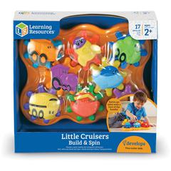 Learning Resources Little Cruisers Build & Spin - Theme/Subject: Learning - Skill Learning: Visual, Tactile Stimulation, Counting, Sorting, Matching, Problem Solving, Cause & Effect, Sequential Thinki
