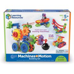 Learning Resources Gears! Gears! Gears! Machines in Motion - Theme/Subject: Learning - Skill Learning: Basic Engineering Principles, Creativity, Building, Interactive Learning, Machines, Vehicle, STEM