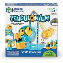 Learning Resources Pendulonium STEM Challenge Set - Theme/Subject: Learning - Skill Learning: STEM, Problem Solving, Critical Thinking, Physics, Force, Momentum Transfer, Brain Model, Muscle, Eye-hand