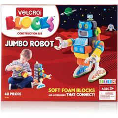 VELCRO® Brand Soft Blocks Robot Construction Set - Theme/Subject: Learning - Skill Learning: Construction, Imagination, Creativity