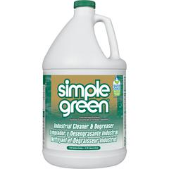 Simple Green Industrial Cleaner/Degreaser - Concentrate Liquid - 1 gal (128 fl oz) - 210 / Pallet - White