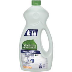Seventh Generation Professional Dish Liquid - Liquid - 0.39 gal (50 fl oz) - Free & Clear Scent - 1 Each - Multi