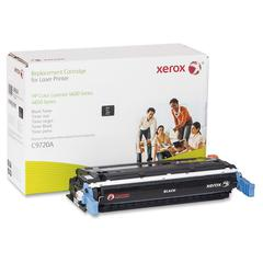 Xerox Remanufactured Toner Cartridge - Alternative for HP 641A (C9720A) - Black - Laser - 9000 Page - 1 Each