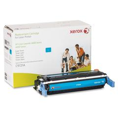 Xerox Remanufactured Toner Cartridge - Alternative for HP 641A (C9721A) - Cyan - Laser - 8000 Page - 1 Each