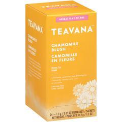Teavana Chamomile Blush Herbal Tea - Herbal Tea - Chamomile Blush, Lemongrass, Spearmint - 0.05 oz Per Bag - 24 Teabag - 24 / Box