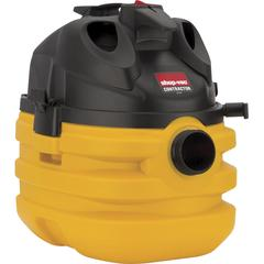 Shop-Vac 5 Gallon 6.0 Peak HP Contractor Portable Wet Dry Vac - 4474.20 W Motor - 179.86 W Air Watts - 5 gal - Bagless - Filter, Hose, Crevice Tool - Wet Surface, Dry Surface, Carpet - 20 ft Cable Len