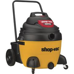 Shop-Vac Industrial Canister Vacuum Cleaner - 2237.10 W Motor - 224.82 W Air Watts - 16 gal - Filter, Hose, Extension Wand, Claw Nozzle, Floor Nozzle, Crevice Tool - 12.47 ft Cleaning Width - Wet Surf