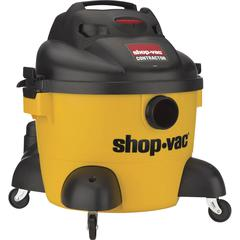 """Shop-Vac Contractor Canister Vacuum Cleaner - 2237.10 W Motor - 144.88 W Air Watts - 6 gal - Hose, Filter, Extension Wand, Utility Nozzle, Crevice Tool - 1.26"""" Cleaning Width - Wet Surface, Dry Surfac"""