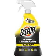 Easy-Off Cleaner Degreaser - Ready-To-Use Spray - 0.25 gal (32 fl oz) - 1 Each - Clear