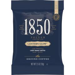 Folgers 1850 Lantern Glow Ground Coffee Pouches - Arabica - 12 oz - 24 / Carton