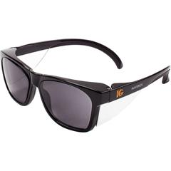 Kimberly-Clark Professional Maverick Safety Eyewear - Recommended for: Outdoor - Anti-scratch, Comfortable, Lightweight, Browguard, Durable - Universal Size - Fog, Flying Particle, UVA, UVB, UVC, Impa