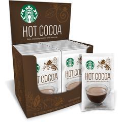 Starbucks Hot Cocoa Mix - Cocoa, Chocolate - 1 oz - 24 / Box