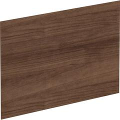 Lorell Adaptable Panel Dividers - Aluminum - Walnut