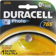 Duracell Medical/Photo Alkaline 1.5V Battery - 76A - 180 mAh - Silver Oxide - 1.5 V DC - 1 Each