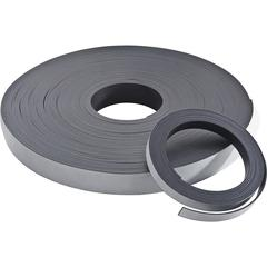 "Zeus Magnetic Tape - 1"" Width x 33.33 yd Length - Magnet - Adhesive Backing - Flexible - Black"