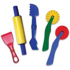 ChenilleKraft Clay Dough Tool Set - Dough Cutting - 5 Piece(s) - 5 / Set - Assorted