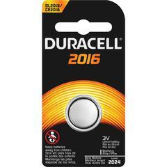Duracell Duralock Power Preserve 2016 Battery - Lithium (Li) - 3 V DC - 1 Each