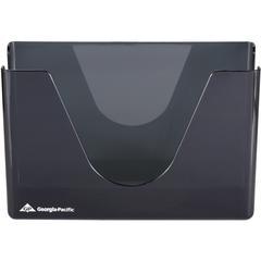 "Georgia-Pacific Vista C-Fold Towel Dispenser - C Fold, BigFold Dispenser - 250 x Sheet - 7.8"" Height x 11.4"" Width x 4.4"" Depth - Plastic - Smoke - Durable, Washable"