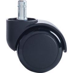 """Master Caster Futura Digital Wheel Casters - 2.18"""" Diameter - 100 lb - Black"""