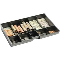 MMF Replacement Cash/Coin Tray - 1 x Cash Tray - 5 Bill/5 Coin Compartment(s) - Black - Plastic