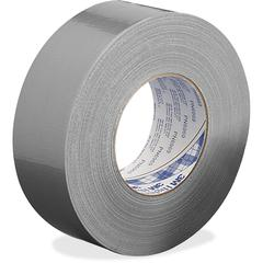 "3M Polyethylene Coated Duct Tape - 1.88"" Width x 60 yd Length - 3"" Core - Rubber - 8.60 mil - Polyethylene Coated Cloth Backing - 1 / Roll - Silver"