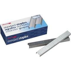 "OIC Standard Chisel Point Staples - 210 Per Strip - Standard - 1/4"" Leg - Holds 20 Sheet(s) - Chisel Point - 5000 / Box"