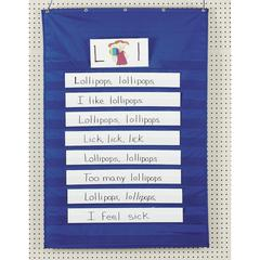 Pacon Word/Sentence Strip Pocket Charts