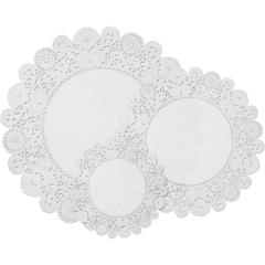 Pacon Round Lace Doilies - 30 / Pack - Assorted