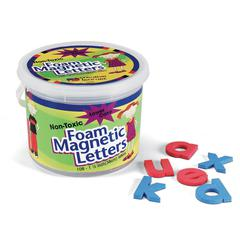 "(Lowercase Letters) Shape - Magnetic - Non-toxic - Letter Height: 1.5"" - Blue Consonants - Red Vowels - Assorted - Foam - 108 / Set - (Lowercase Letters) Shape - Magnetic - Non-toxic - Assorted - Foam"