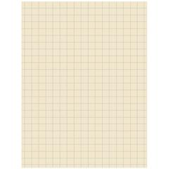 "Pacon Ruled Drawing Paper - 500 Sheets - 0.50"" Ruled - Unruled - 9"" x 12"" - Manila Paper - 500 / Pack"