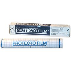 "Pacon Clear Protecto Film - Laminating Pouch/Sheet Size: 18"" Width x 65 ft Length - Type N - Nonglare - for Poster, Maps, Presentation - Clear - 1 / Roll"