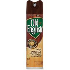Old English Furniture Polish - Aerosol - 12.50 oz (0.78 lb) - Lemon Scent - 1 Each - Brown