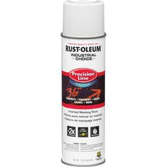 Rust-Oleum Precision Line Inverted Marking Paint - 20 fl oz - 1 Each - White