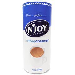 Njoy N'Joy Nondairy Creamer - Regular Flavor - 0.75 lb (12 oz) Canister - 1Each