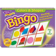 Trend Colors and Shapes Learner's Bingo Game - Theme/Subject: Learning - Skill Learning: Color Matching, Shape