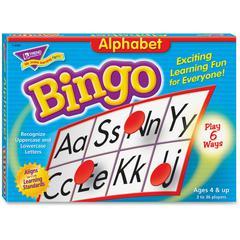 Trend Alphabet Bingo Learning Game - Theme/Subject: Learning - Skill Learning: Alphabet