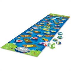 Learning Resources Crocodile Hop Floor Game - Theme/Subject: Learning - Skill Learning: Color Identification, Shape, Number Recognition, Problem Solving, Gross Motor