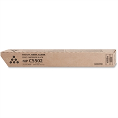Ricoh Toner Cartridge - Black - Laser - 31000 Page - 1 / Carton