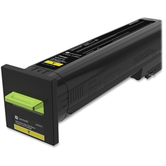 Lexmark Original Toner Cartridge - Yellow - Laser - Extra High Yield