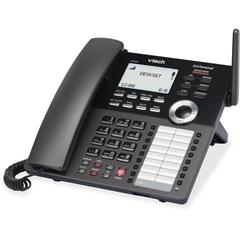 VTech ErisTerminal VSP608 IP Phone - Wireless - DECT - Desktop - VoIP - Caller ID - Speakerphone - SIP Protocol(s)