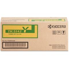 Kyocera TK-5142Y Original Toner Cartridge - Yellow - Laser - 5000 Page - 1 Each