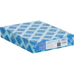 "Copy & Multipurpose Paper - Letter - 8.50"" x 11"" - 20 lb Basis Weight - Recycled - 30% Recycled Content - 500 / Ream - Blue"