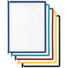 DURABLE® INSTAVIEW® Replacement Panels for Reference Display System - Replacement Panels - Assorted - 5 Pack - INSTAVIEW Design