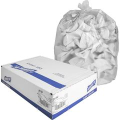 "Genuine Joe High-density Can Liners - Small Size - 16 gal - 24"" Width x 32"" Length x 0.31 mil (8 Micron) Thickness - High Density - Clear - Resin - 1000/Carton - Office Waste, Industrial Trash"