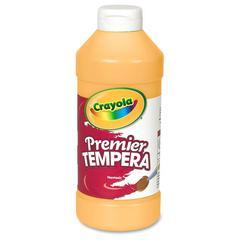 Crayola 16 oz. Premier Tempera Paint - 16 fl oz - 1 Each - Peach