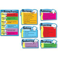 Carson-Dellosa Gr 3-8 The Writing Process Bulletin Brd Set - Theme/Subject: Learning - Skill Learning: Writing - 6 Pieces - 8-14 Year